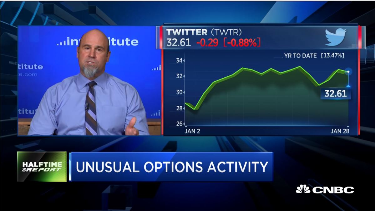 Pete Najarian Sees Unusual Option Activity in $TWTR & $YUMC