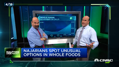 Pete Najarian Sees Unusual Option Activity In $WFM