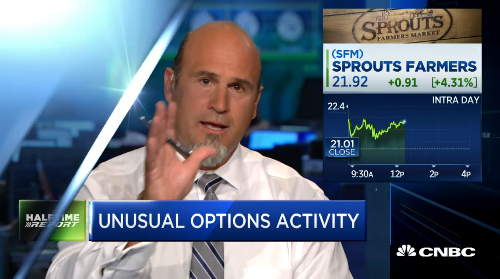 Pete Najarian Sees Unusual Option Activity In $SFM