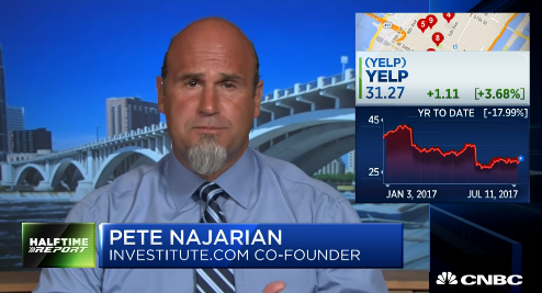 Pete Najarian Sees Unusual Option Activity In $YELP