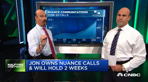 Najarian Brothers See Unusual Activity In $NUAN & $NBR