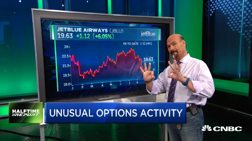 Jon Najarian Sees Unusual Option Activity In $JBLU, $LUV & $AAL