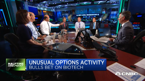 Pete Najarian Sees Unusual Option Activity In $XBI