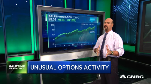 Jon Najarian Sees Unusual Option Activity In $CRM & $XRT