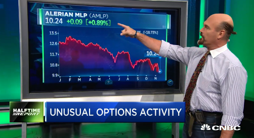 Jon Najarian Sees Unusual Option Activity In $AMLP & $X