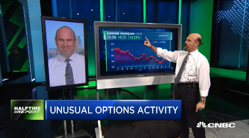 Najarian Brothers See Unusual Option Activity In $KMI, $UPS, & $BAC
