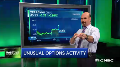 Jon Najarian Sees Unusual Option Activity In $TER