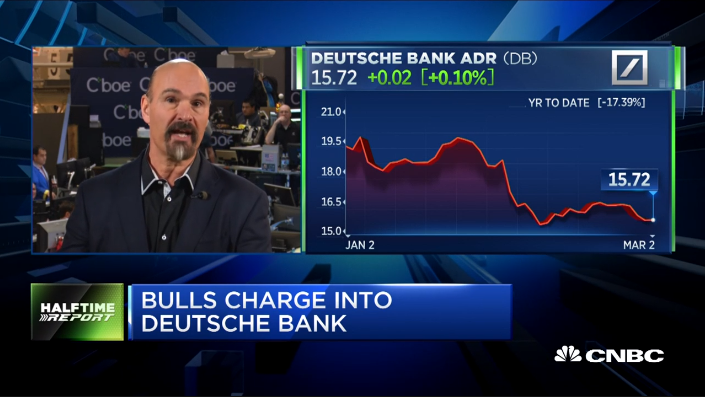 Jon Najarian Sees Unusual Option Activity In $DB & $VXX