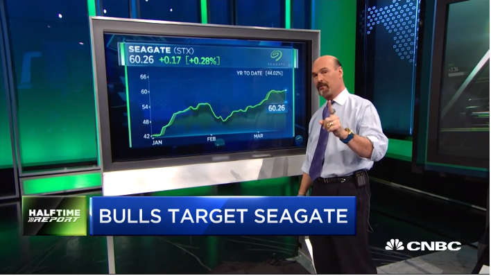 Jon Najarian Sees Unusual Option Activity In $STX