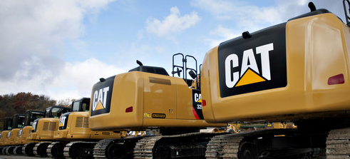 Calls Fly With Caterpillar At Highs
