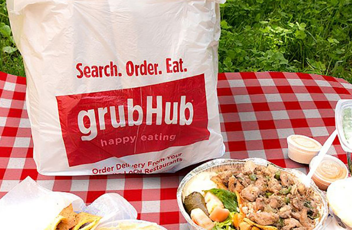 GrubHub Call Buyers Post 400% Profit