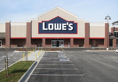 Lowe's Bears Go On Shopping Spree