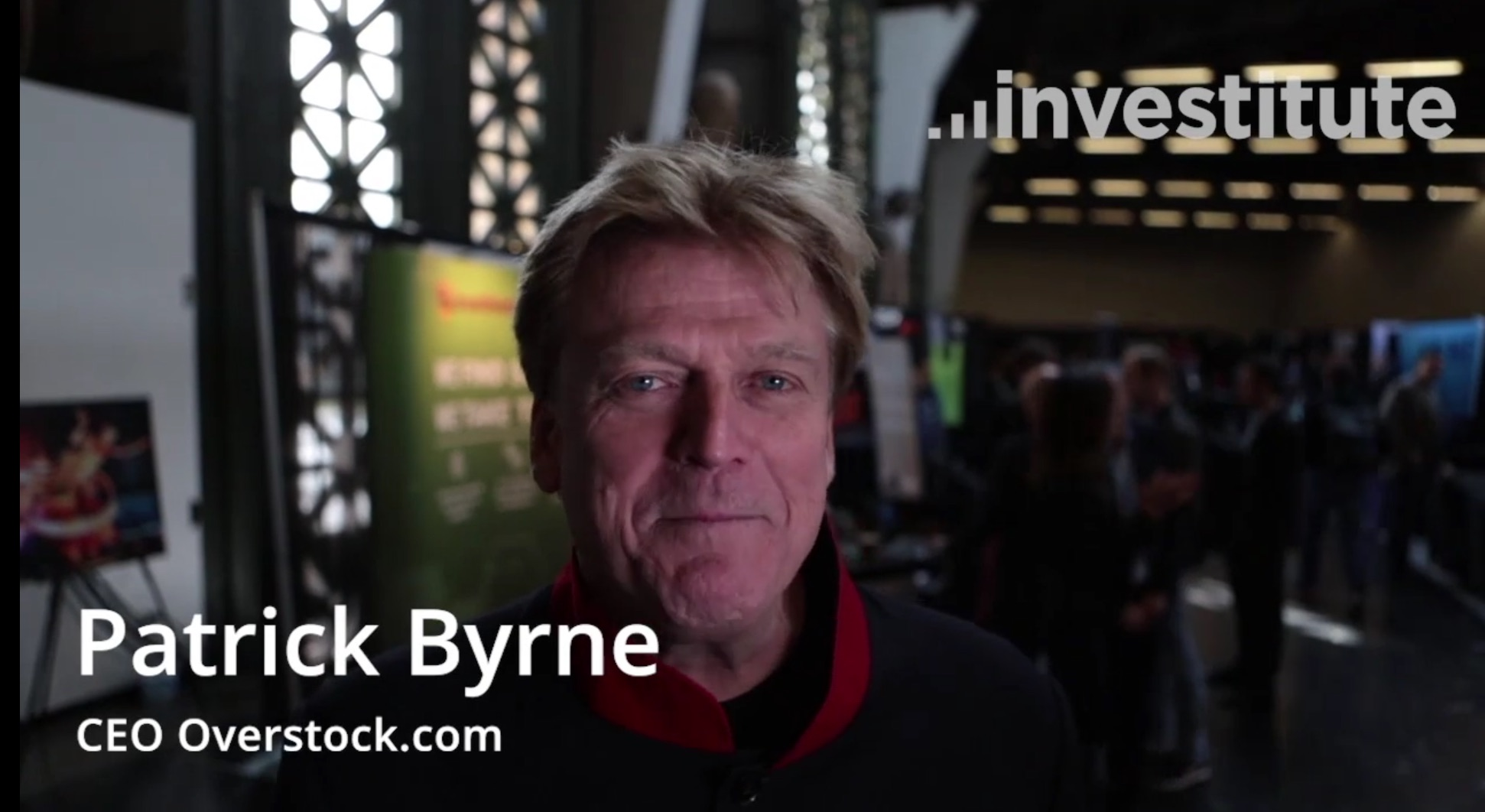 Talking With Patrick Byrne (CEO, Overstock) At Token Fest 2018