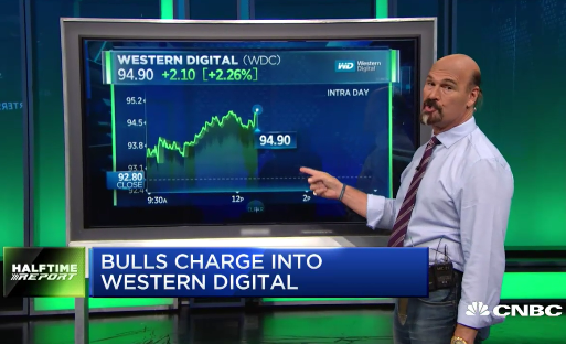Bulls Cash In On Western Digital