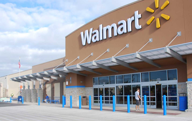 Wal-Mart Puts Post Major Gains